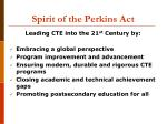 spirit of the perkins act