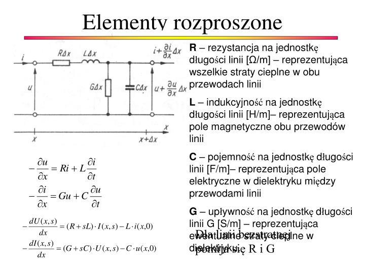 Elementy rozproszone