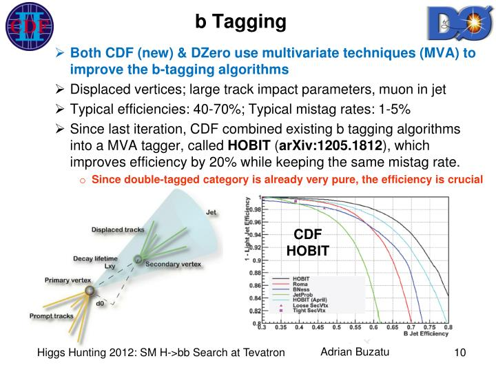 b Tagging