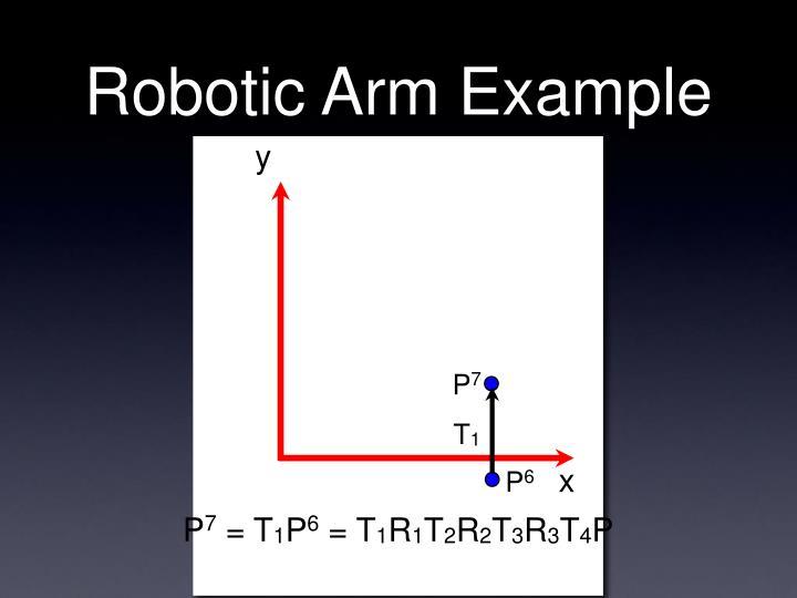 Robotic Arm Example
