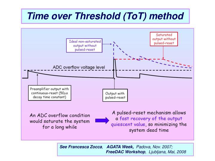 Time over Threshold (ToT) method