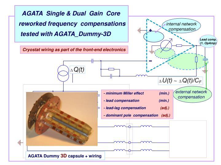 AGATA  Single & Dual  Gain  Core
