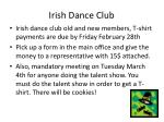 irish dance club