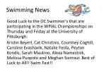swimming news