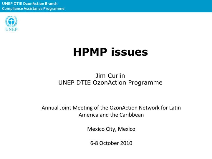 HPMP issues