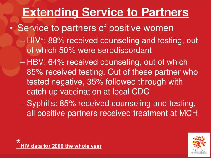 Extending Service to Partners