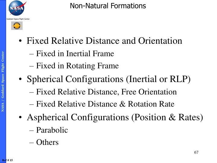 Fixed Relative Distance and Orientation