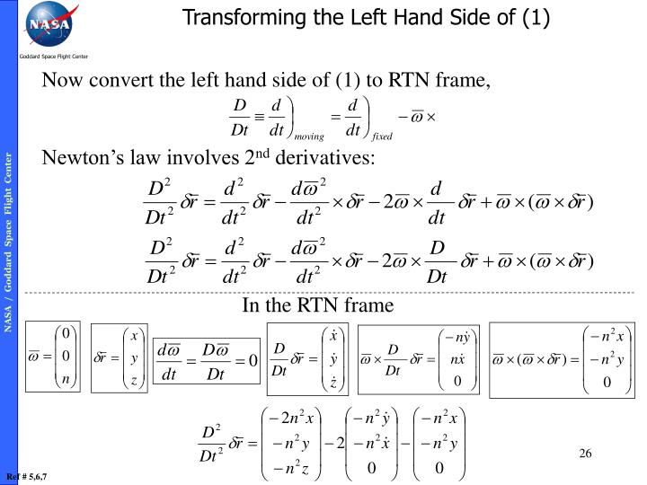 Transforming the Left Hand Side of (1)