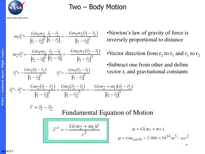 Two – Body Motion