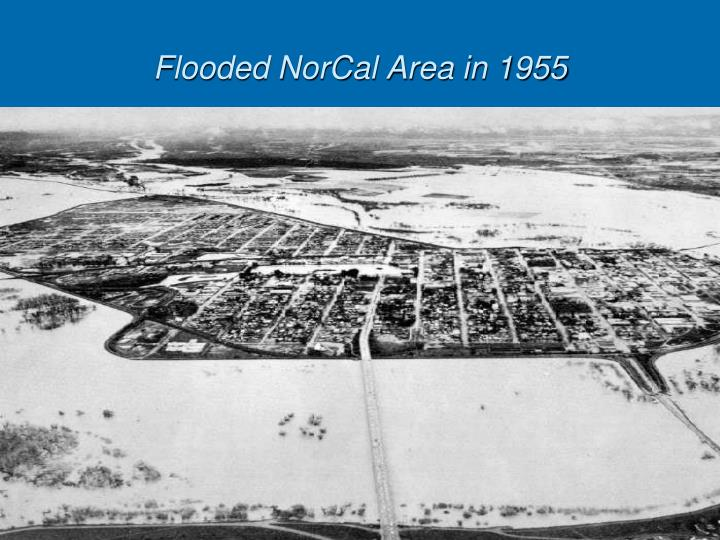 Flooded NorCal Area in 1955