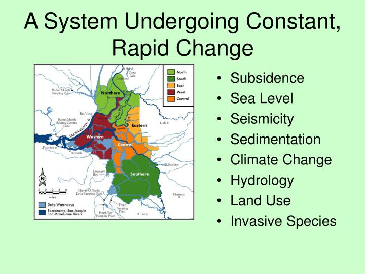 A System Undergoing Constant, Rapid Change