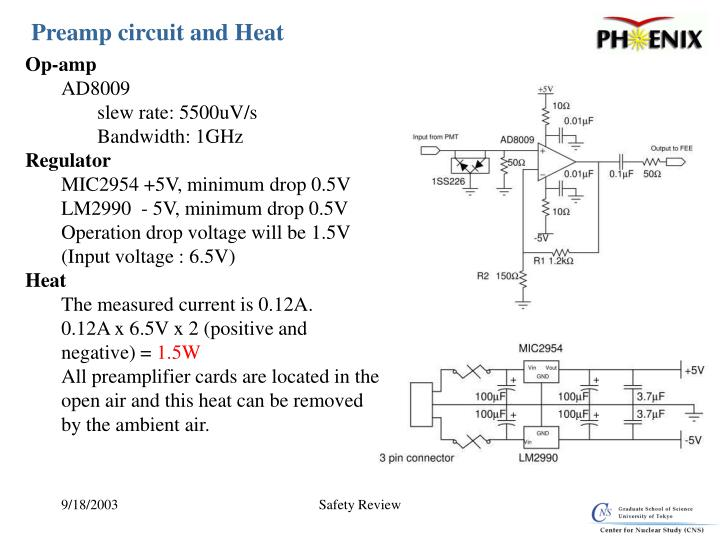 Preamp circuit and Heat