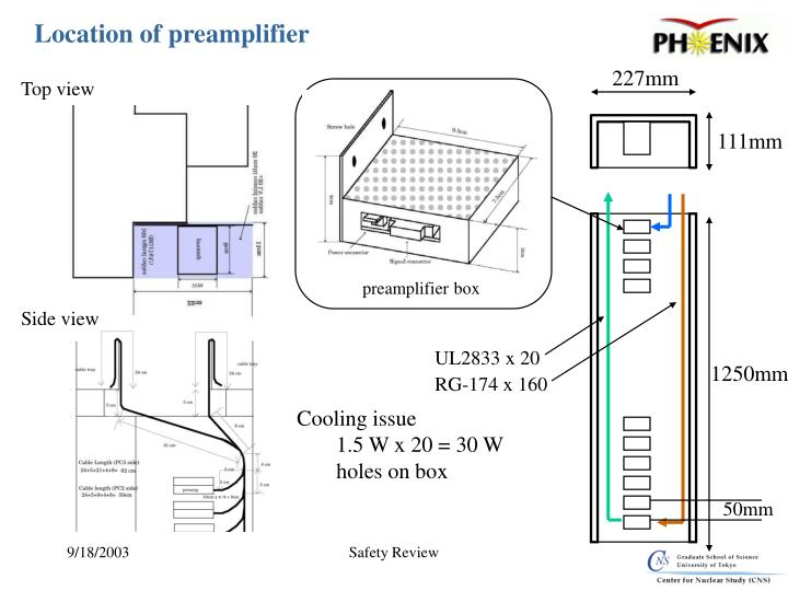 preamplifier box