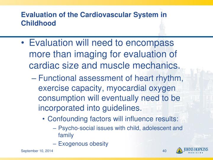 Evaluation of the Cardiovascular System in Childhood