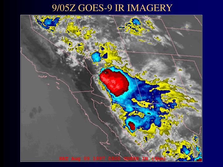 9/05Z GOES-9 IR IMAGERY