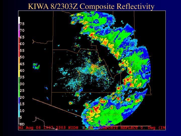 KIWA 8/2303Z Composite Reflectivity