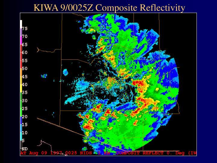 KIWA 9/0025Z Composite Reflectivity