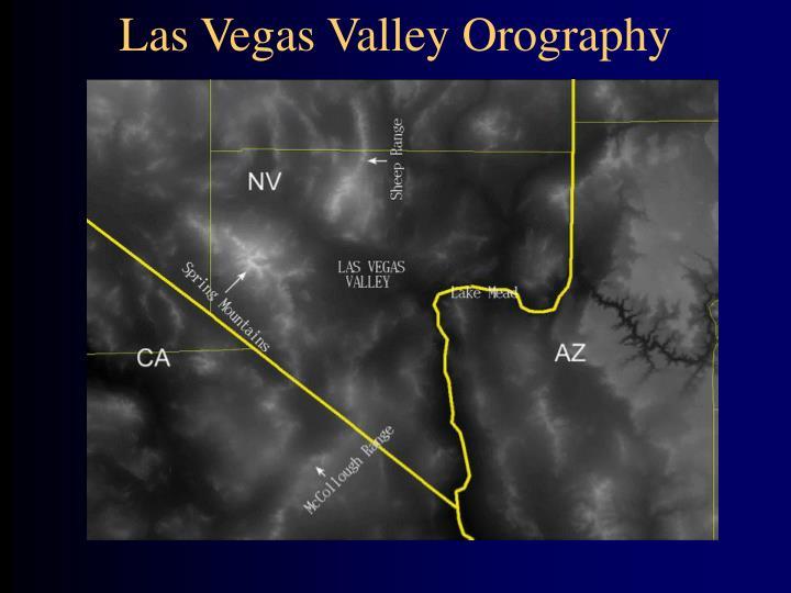 Las Vegas Valley Orography