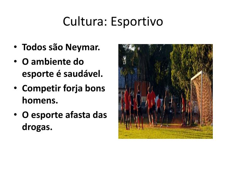 Cultura: Esportivo