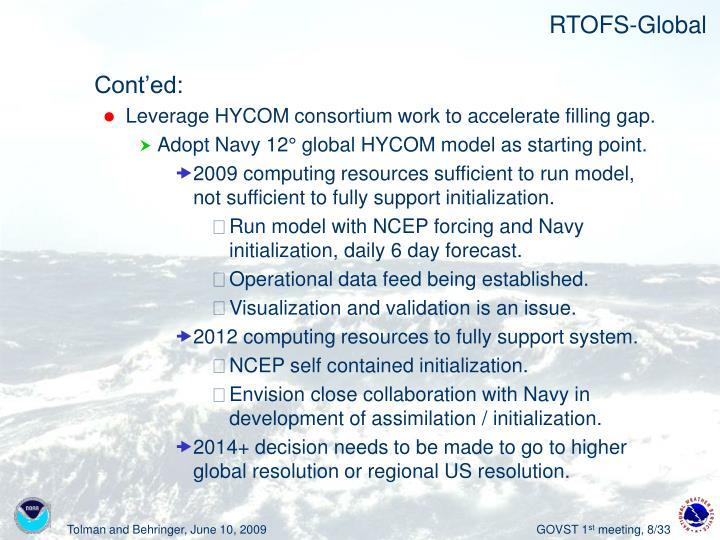 RTOFS-Global