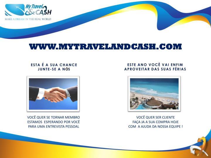 WWW.MYTRAVELANDCASH.COM