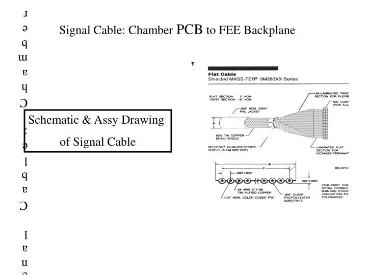 Signal Cable: Chamber