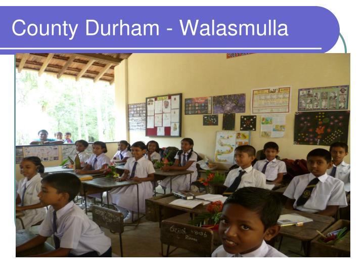 County Durham - Walasmulla