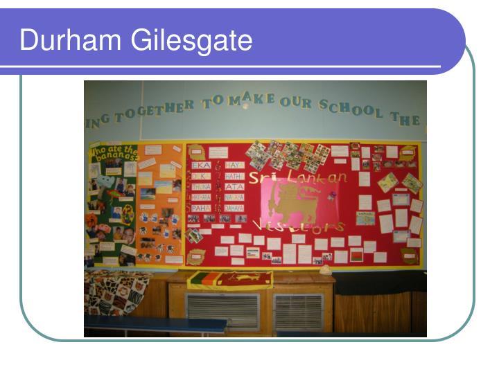 Durham Gilesgate