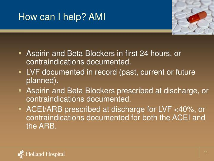 How can I help? AMI