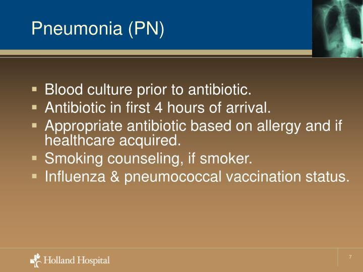 Pneumonia (PN)