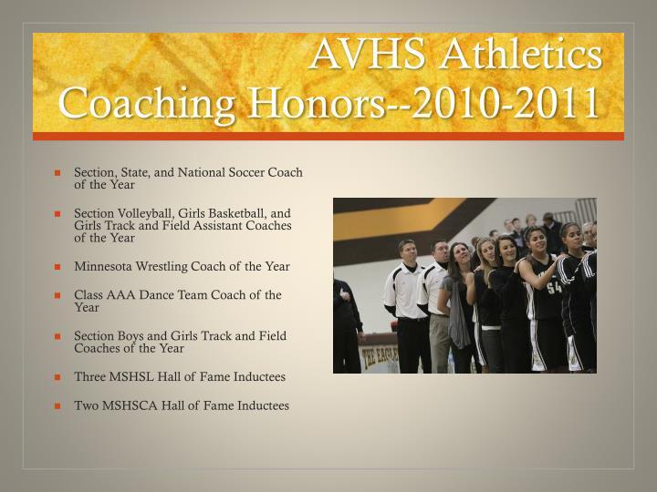 AVHS Athletics