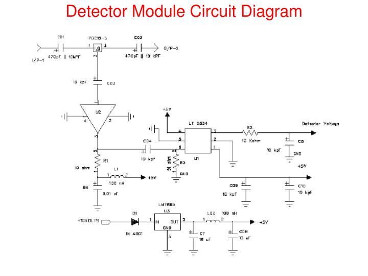Detector Module Circuit Diagram