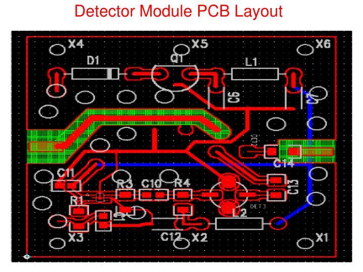 Detector Module PCB Layout