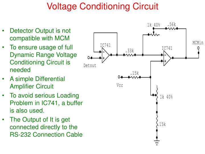 Voltage Conditioning Circuit