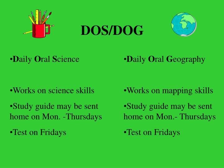 DOS/DOG