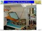 installing hybrid pa s