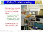 pulser troubleshooting