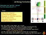 jet energy corrections
