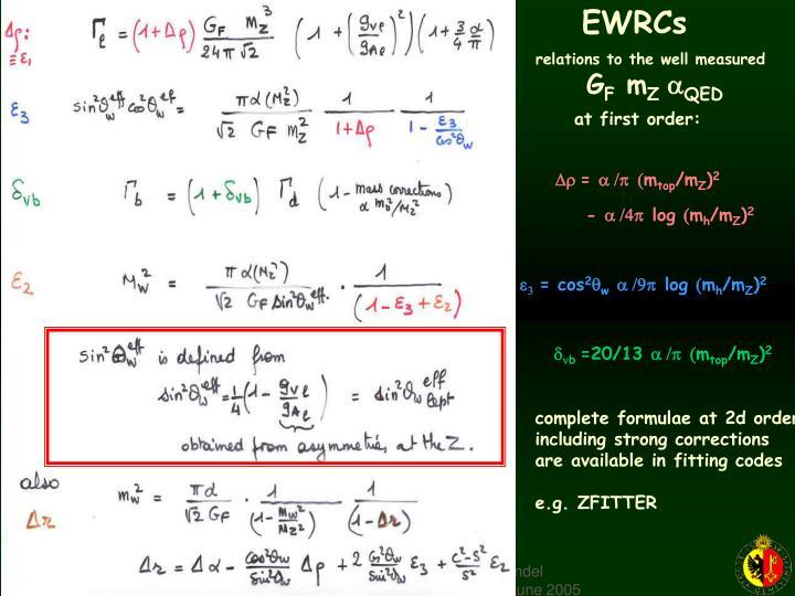 EWRCs