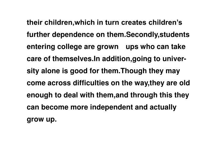 their children,which in turn creates children's