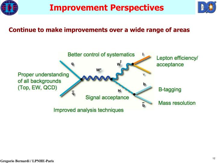 Improvement Perspectives