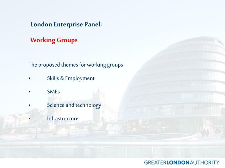 London Enterprise Panel: