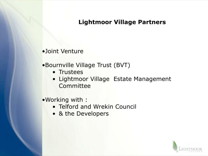 Lightmoor Village Partners