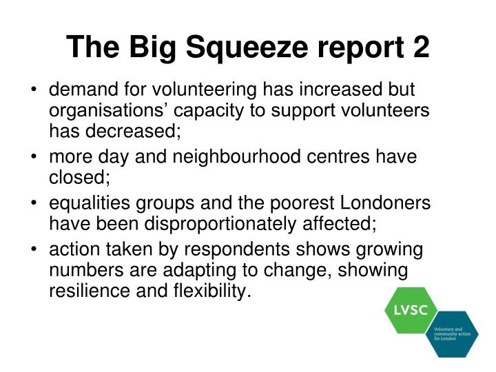 The Big Squeeze report 2