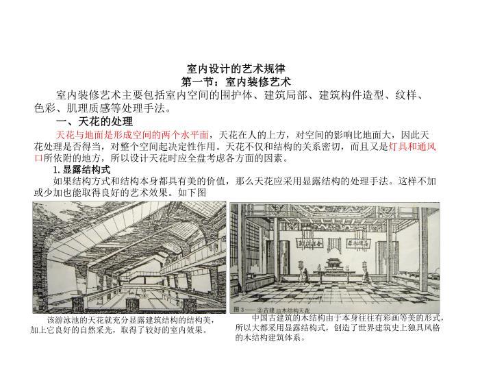 室内设计的艺术规律
