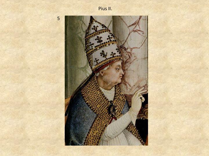 Pius II.