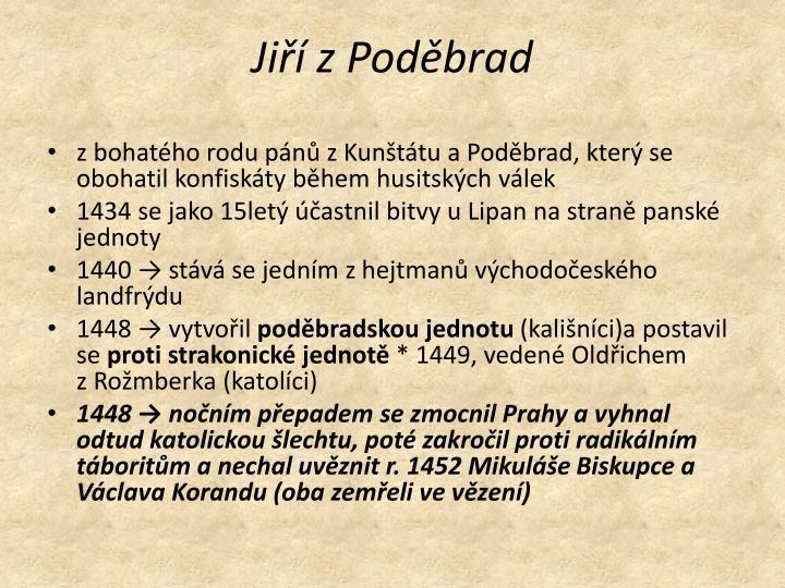 Jiří zPoděbrad