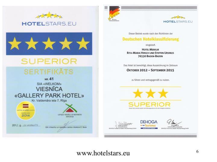 www.hotelstars.eu