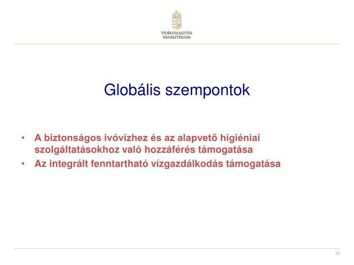 Globális szempontok