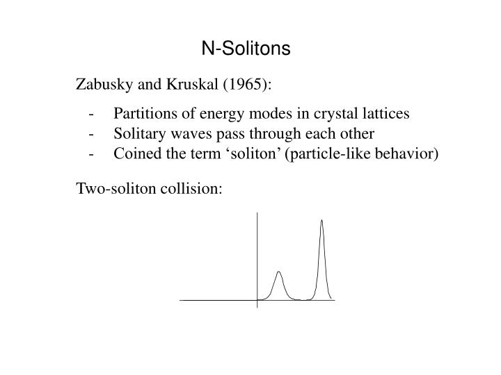 N-Solitons